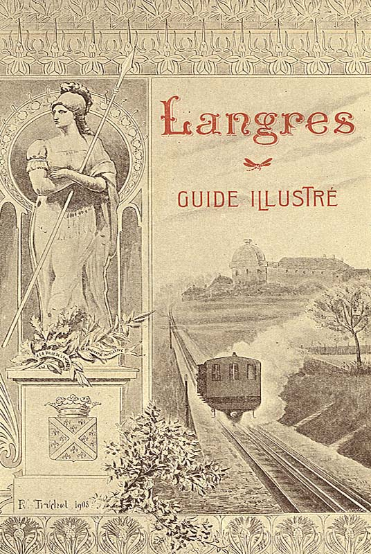 Langres : guide illustré de 1908